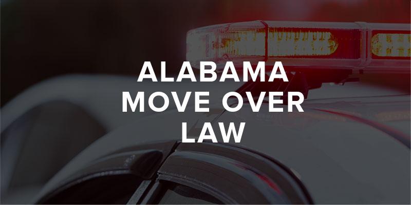 Alabama move over law